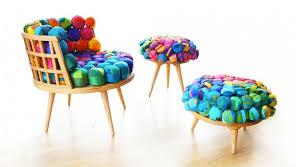 Recycled Silk Furniture, Meb Rure, recycled silk furniture, ottoman,  Turkish design,