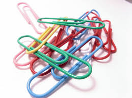Image result for colored paper clips