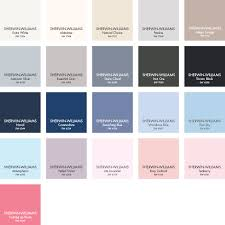 Sherwin Williams Color Chart 2018 Paint Colors From Sherwin Williams In 2019 Sherwin