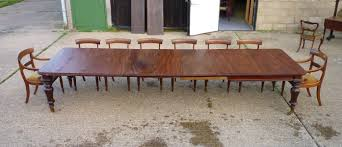 large antique dining table four metre long narrow antique mahogany extending dining table