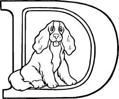 Small Picture Letter D Coloring Pages Bebo Pandco