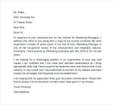 Account Executive Cover Letter Samples Sample Executive Cover Letter