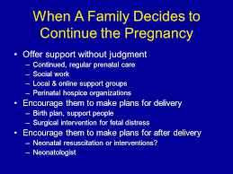 Perinatal Hospice Birth Plan Fetal Diagnosis Counseling Of Pregnancy Options Ppt Video Online