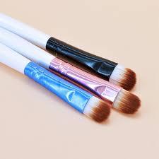 1pc super soft professional oblique makeup eyebrow brush eyeshadow blending angled brush estic make up tool