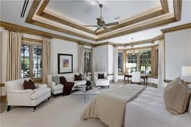 master bedroom white furniture. This Stately Room Uses White Leather Furniture To Complement The Rest Of Decor. Deep Master Bedroom