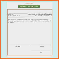 Free Loan Agreement Cool 48 Fresh Ideas Of Employee Loan Agreement Template Free Lease