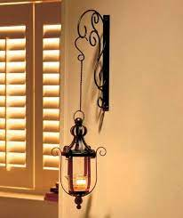 wall mounted hanging candle lanterns
