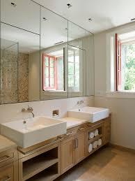 recessed medicine cabinet in Bathroom Contemporary with Wash Basin