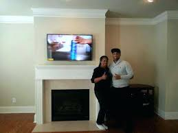 fireplace flat screen tv over fireplace flat screen installation hanging flat screen tv on brick fireplace