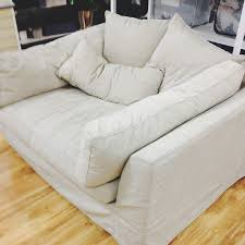 Love an oversized chair - maybe for corner in TV room or for living room  Couch HomeGoods oversized chair