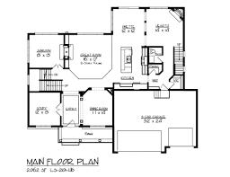 3 Bedroom Open Floor Plan With Wraparound Porch And BasementLake Front Home Plans