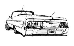 Small Picture Customized Lowrider Cars Coloring Pages Download Print Online