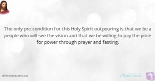 Fasting Quotes Extraordinary Mahesh Chavda Quote About Prayer Holy Spirit People Fasting