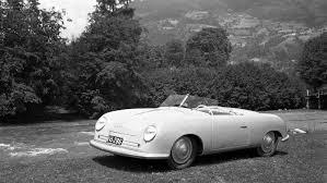 porsche and the four cylinder flat engine 356 nr 1 roadster gmünd 1948 porsche ag