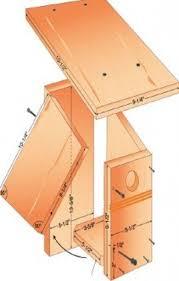 bluebird house plans. Bluebird DIY Bird House Plans B