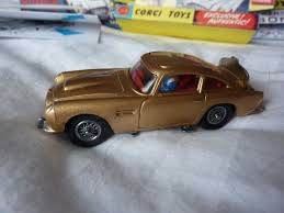 Vintage 1960s Corgi Aston Martin DB5 James Bond 007 Goldfinger ...