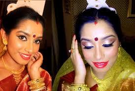 indian bridal makeup tutorial bengali bride makeup colaboration you