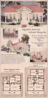 1940 bungalow house plans luxury the 2370 best 1800 s 1940 s house plans images on