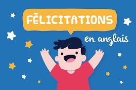 Félicitations En Anglais