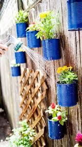 Diy Garden Projects Tin Can Garden Garden Gardening Garden Decor Small Garden Ideas