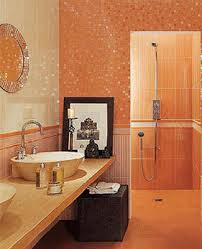 Home Staging Tips Space Saving Small Bathrooms Design Awesome Orange Bathroom Decorating Ideas