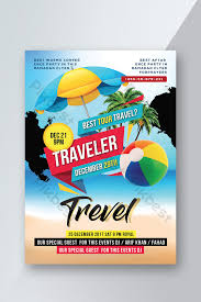 Thailand Travel Agency Flyer Psd Template Template Psd