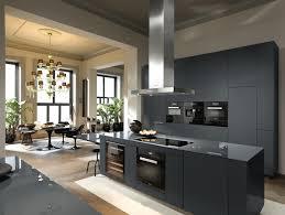 Miele Obsidian Black Kitchen Arete