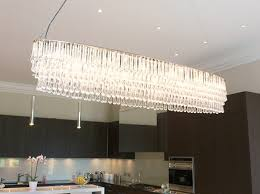 contempory lighting. Crystal Ellipse Chandelier Contempory Lighting
