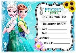 Frozen Birthday Invitations Disney Frozen Birthday Party Invites Anna Elsa Olaf Design