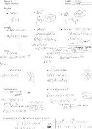 extraordinary algebra 2 factoring polynomials worksheet with answers on plete the square worksheets wallpapercraft