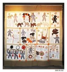 Details about fantastic !!! AFRICAN AMERICAN ARTIST E.J. ... & This reproduction Bible Quilt by Harriet Powers was sold by the Smithsonian  in the early 1990s Adamdwight.com