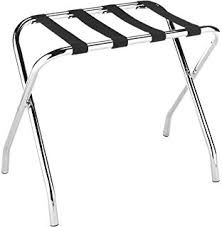 hotel luggage rack. Unique Luggage Whitmor Chrome Luggage Rack  Foldable Commercial Quality Throughout Hotel