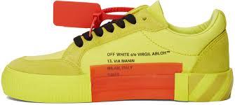 Ssense Size Chart Ssense Exclusive Yellow Low Vulcanized Sneaker