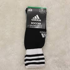 Adidas Copa Zone Iii Sock Size Chart Nwt Adidas Xs Soccer Socks Black And White Nwt