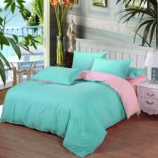 ab side bedding set super king duvet cover set dark blue beige 3 4pcs bedclothes bed