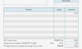 Consulting Invoice Template Free Invoice Hours Worked Template