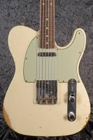 Fender Custom Shop Designed Telecaster Fender Custom Shop 60 Relic Telecaster Vintage White