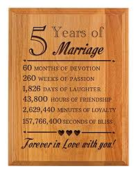 amazon thiswear 5th wedding forever in love you wood 7x9 oak wood engraved plaque wood home kitchen