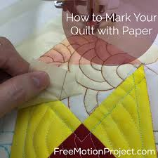 The Free Motion Quilting Project: Quilt Marking with Paper & An error occurred. Adamdwight.com