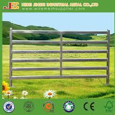 metal farm fence. Galvanized Steel Pipe Corral Metal Fence Panel For Livestock , Farm  Panels Horse Metal Farm Fence G