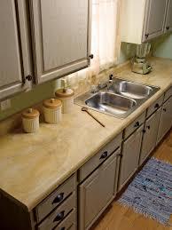 Wood laminate kitchen countertops Solid Surface u003cstrongu003ebeforeu003cstrongu003e Diy Network How To Repair And Refinish Laminate Countertops Diy