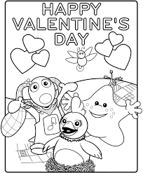 Small Picture Valentines Day Coloring Printables Coloring Page Arterey Info