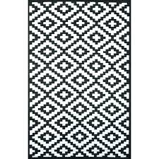 black and white outdoor rug canada striped