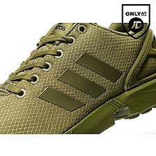 adidas khaki trainers. adidas originals zx flux ripstop khaki trainers