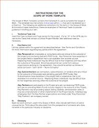 7 scope of work template authorizationletters org scope of work template by markhardigan