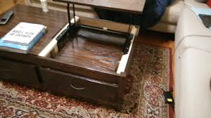 Retractable Coffee Table Ana White Lift Top Coffee Table Diy Projects