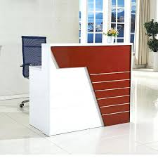 small office reception desk high end modern office furniture small reception desk beauty salon small