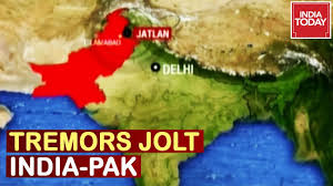 The reason for the intensity and high frequency of earthquakes is the indian plate driving into asia at a rate of approximately 47 mm/year. Earthquake Across North India And Pakistan Tremors Felt In Delhi Ncr Kashmir Youtube