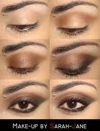 another way to make the brown in your eyes pop is by using lighter eyeshadow color such as yellow or pink they create a light backdrop for the brown and