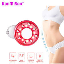 Led Lights For Fat Reduction Us 35 07 49 Off Ultrasonic Body Slimming Massager Ems Muscle Stimulator Lose Weight Radio Frequency Led Rf Waist Legs Abdomen Slimming Device In